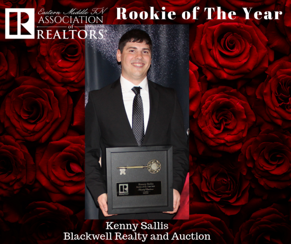 EMTAR's Rookie of The Year is Kenny Sallis!