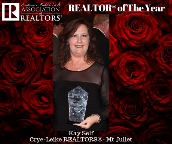 EMTAR's REALTOR® of The Year is Kay Self!