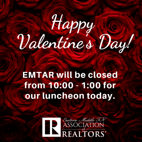 EMTAR – closed for Luncheon